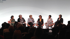 "Die Kanzlerin bei der Podiumsdiskussion ""Taking Gender Equality to the Core of the G20"" auf dem W20-Dialogforum in Berlin"