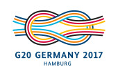Logo of the G20 summit 2017